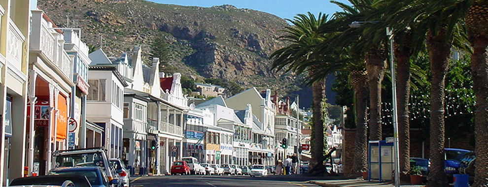 Simon's Town - main road