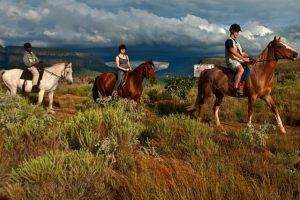 escursione a cavallo nel blyde river canyon
