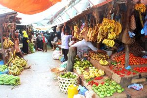 il mercato delle spezie di Stone Town, principale centro abitato di zanzibar
