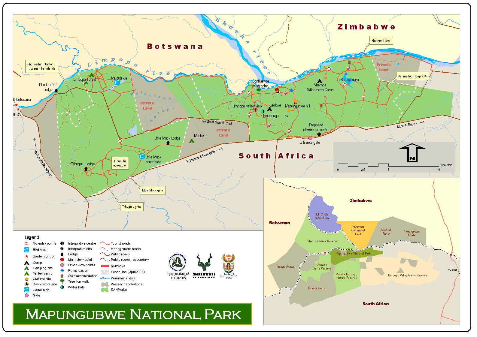 mapungubwe map