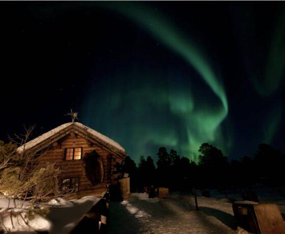 aurora boreale engholm husky lodge