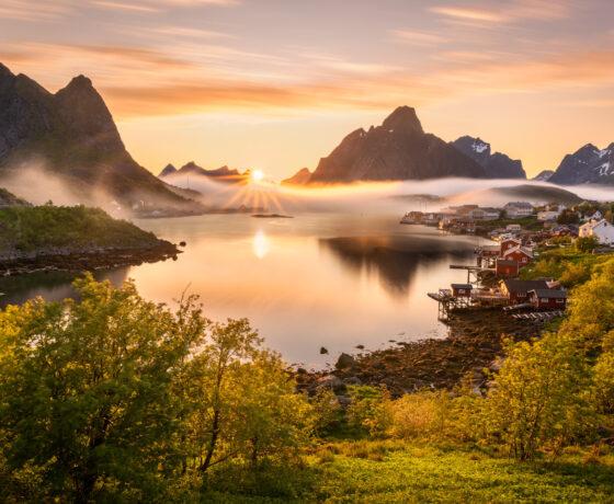 lofoten-sunset